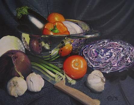 Cena di Veganiano by Steven Gutierrez