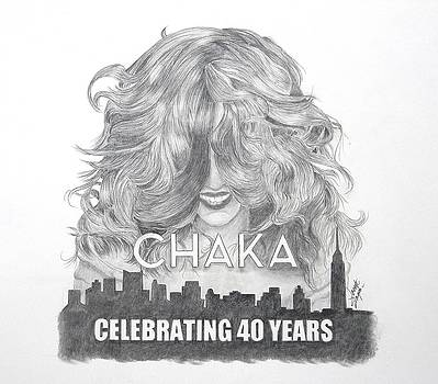 Chaka 40 Years by Joette Snyder