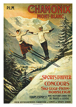 Chamonix Mont Blanc by Vintage