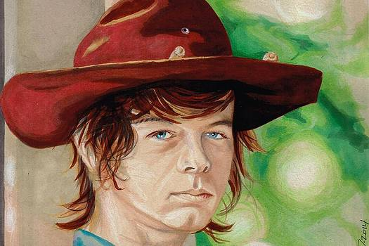 Chandler Riggs by Kyle Willis