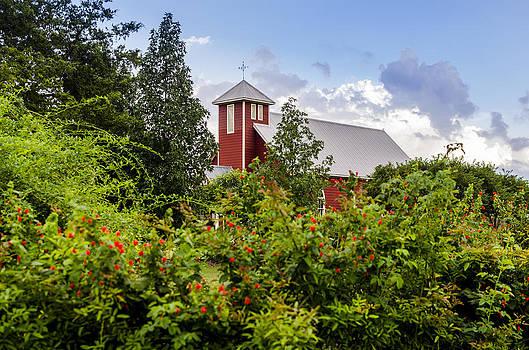 David Morefield - Chapel at the Antique Rose Emporium