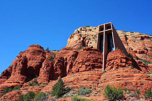 Chapel of the Holy Cross Sedona by Laurie Larson