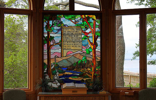 Chapel Window by Carolyn Ricks