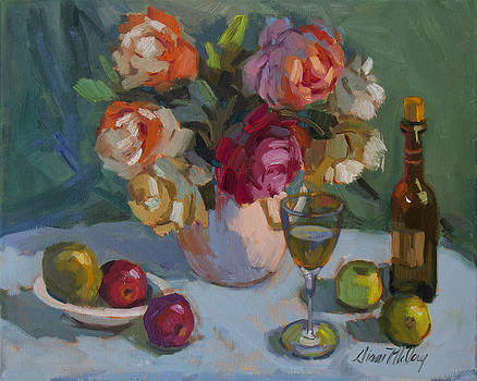 Diane McClary - Chardonnay and Roses