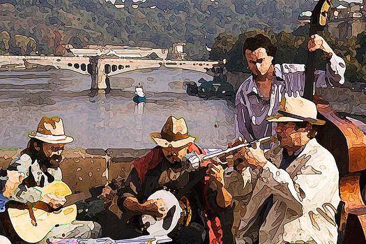 Charles Bridge Band by Michael Fahey