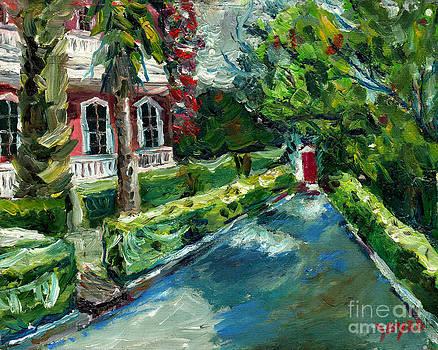Charleston Red Door by Joe Byrd