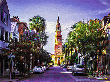 Ginette Callaway - Charleston South Carolina St Philips Church