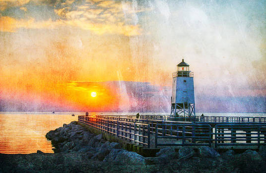 Charlevoix Lighthouse II by Joan Bertucci