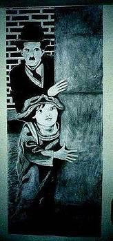 CHARLIE CHAPLIN - The Kid by Junior Omni