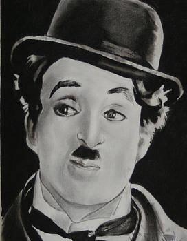 Charlie Chaplin by Aaron Balderas