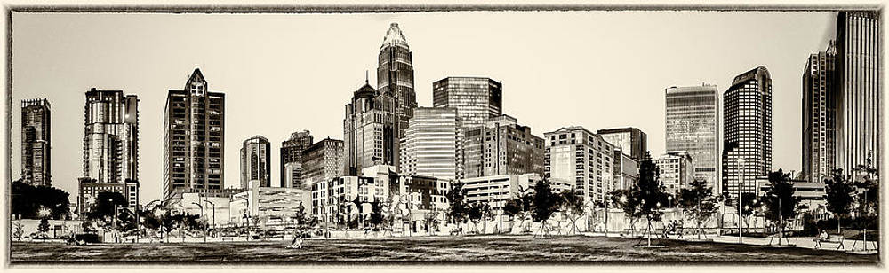 Charlotte NC. Skyline by Donnie Bagwell