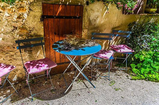 On the patio by Dany Lison