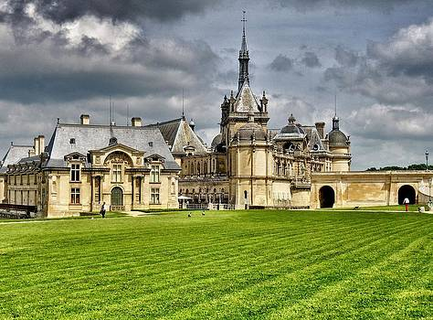 Chateau de Chantilly by Ravi S R