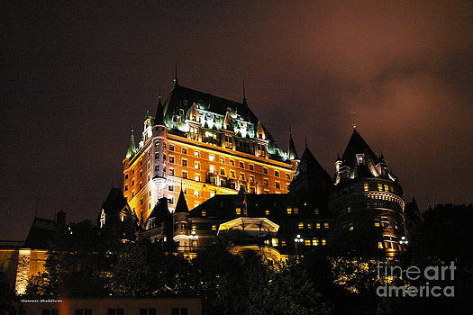 Tannis  Baldwin - Chateau Frontenac in Quebec