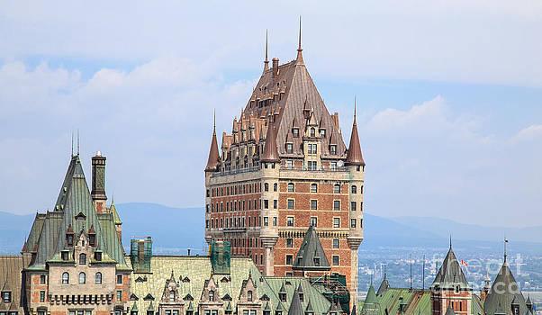 Edward Fielding - Chateau Frontenac Quebec City Canada