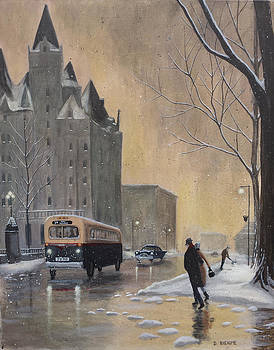 Chateau Laurier Evening by Dave Rheaume