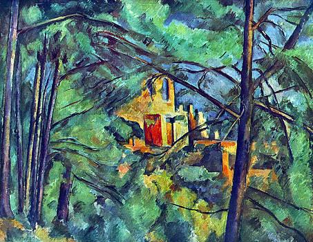 Chateau Noir by Cezanne by John Peter