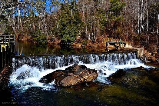 Chattahoochee River by the Nora Mill Granary by Tara Potts