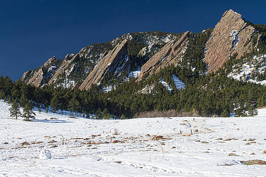 James BO  Insogna - Chautauqua Park Boulder Colorado Winter View