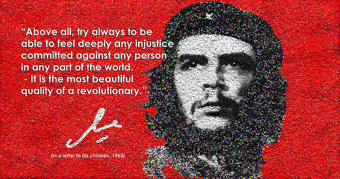 Che Guevara to His Children by Faye Giblin