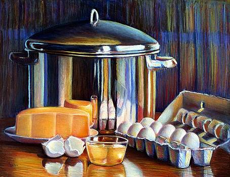 Cheese and Pot by JAXINE Cummins