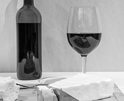 Cheese and Wine Cliche by John Debar