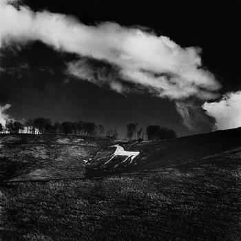 Cherhill White Horse Wiltshire by Mark Preston