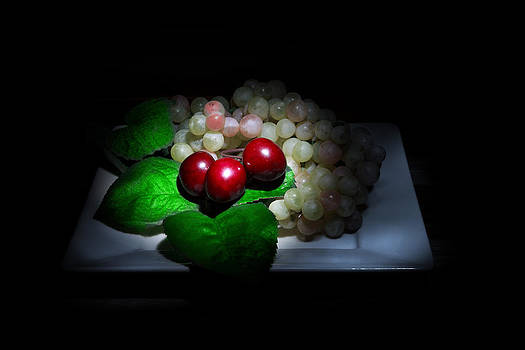 Cherries and Grapes by Cecil Fuselier