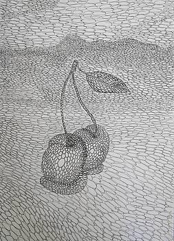 Cherries by Andrey Kuznetsov
