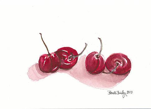Cherries by Brooke Finley