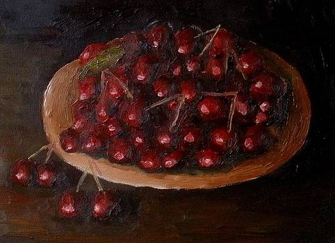 Cherries in the darkness by Mats Eriksson