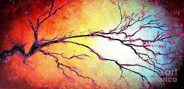 Cherry Blossom Dreams by Mike Grubb