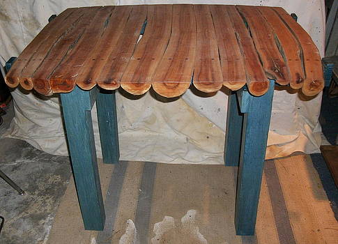 Cherry Trunk table by D Angus MacIver