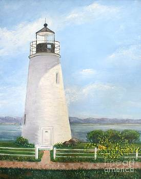 Chesapeake Lighthouse by Tracey Peer