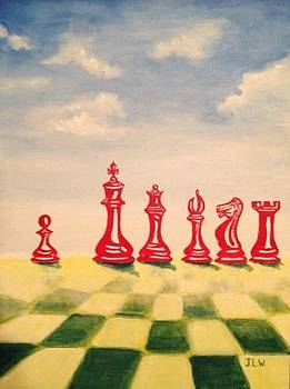 Chess Nuts by Justin Lee Williams