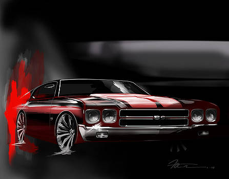 Chevelle Art by Fred Otene
