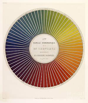 Getty Research Institute - Chevreuls Chromatic Circle