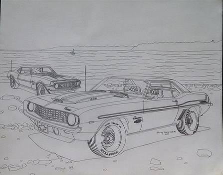 Chevrolet Camaros by Henry Hargrove