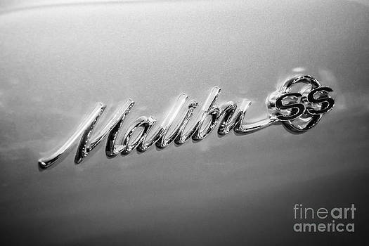 Paul Velgos - Chevrolet Malibu SS Emblem Black and White Picture