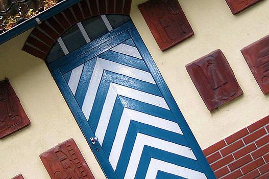 Chevron Door by Gerry Bates