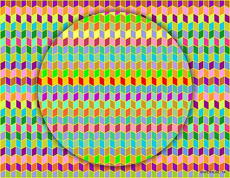 Walter Oliver Neal - Chevrons On A Circle 2