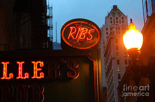 Gregory Dyer - Chicago - Ribs Neon Sign