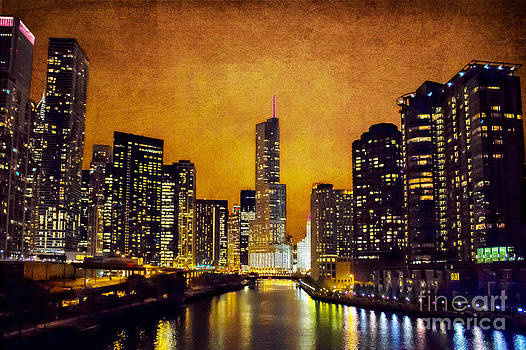 Chicago - A - Glow by Jeanette Brown