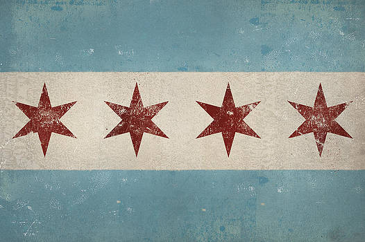 Chicago Flag by Ryan Fowler
