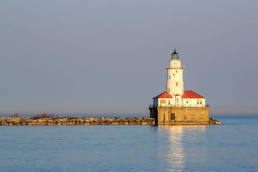 Chicago Harbor Lighthouse by Robert Painter