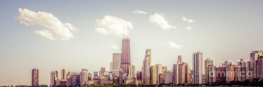 Paul Velgos - Chicago Panorama Photo