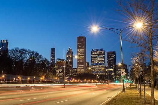 Chicago Skyline - Lake Shore Drive by Robert Painter