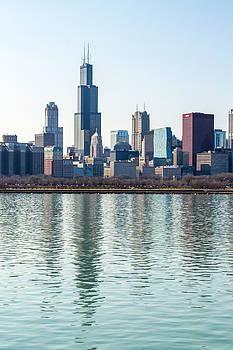 Chicago Skyline 2 by Robert Painter