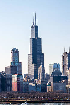 Chicago Skyline 3 by Robert Painter