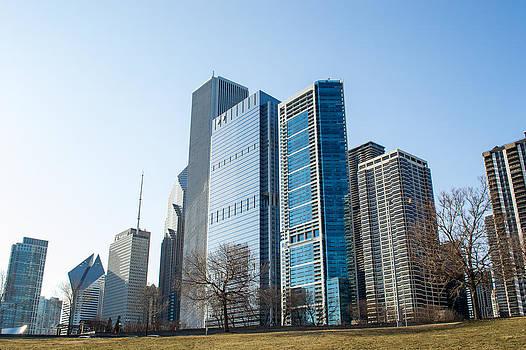 Chicago Skyline 5 by Robert Painter
